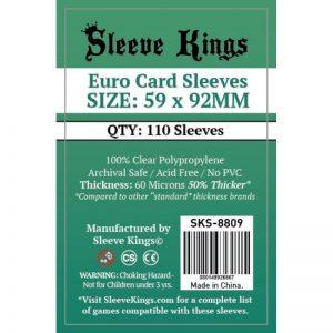 SLEEVE KINGS ST EURO (110 FUNDAS)