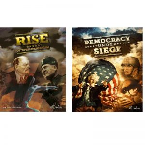 (PREORDER) RISE OF TOTALITARIANISM + DEMOCRACY UNDER SIEGE