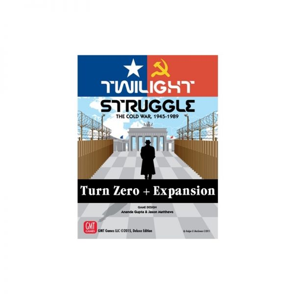 (PREORDER) TWILIGHT STRUGGLE TURN ZERO AND PROMO PACK EXPANSION