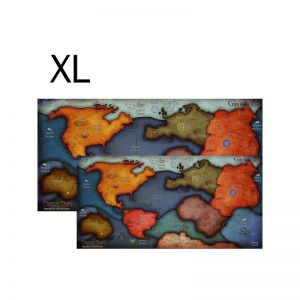 (PREORDER) OVERSIZED 3-5 PLAYER EARTH MAP, CTHULHU WARS