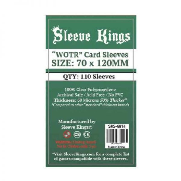 SLEEVE KINGS WOTR CARD SLEEVES (70X120 MM)