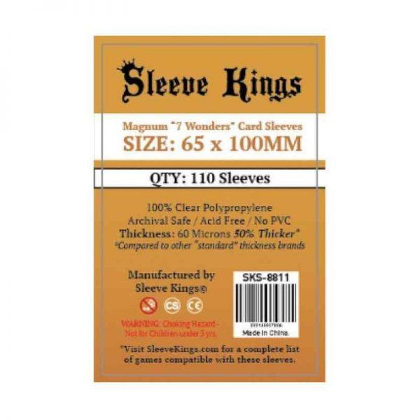 SLEEVE KINGS MAGNUM 7 WONDERS (65 X 100 MM)