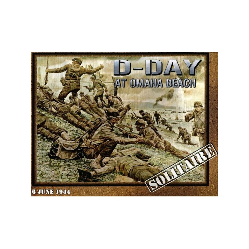 (PREORDER) D-DAY AT OMAHA BEACH REPRINT (inglés)