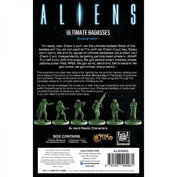 (PREORDER) ALIENS: ULTIMATE BADASSES