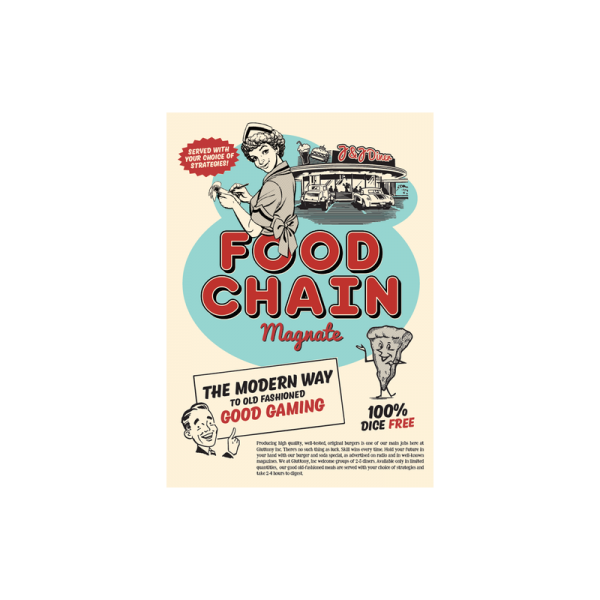 (PREORDER) FOOD CHAIN MAGNATE 9TH PRINTING