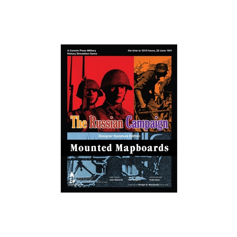 (PREORDER) THE RUSSIAN CAMPAIGN MOUNTED MAPBOARDS