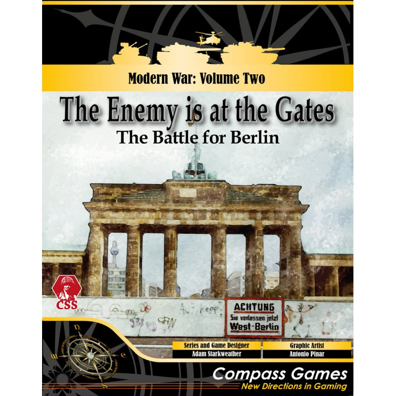 (PREORDER) THE ENEMY IS AT THE GATES: BERLIN. A CSS GAME