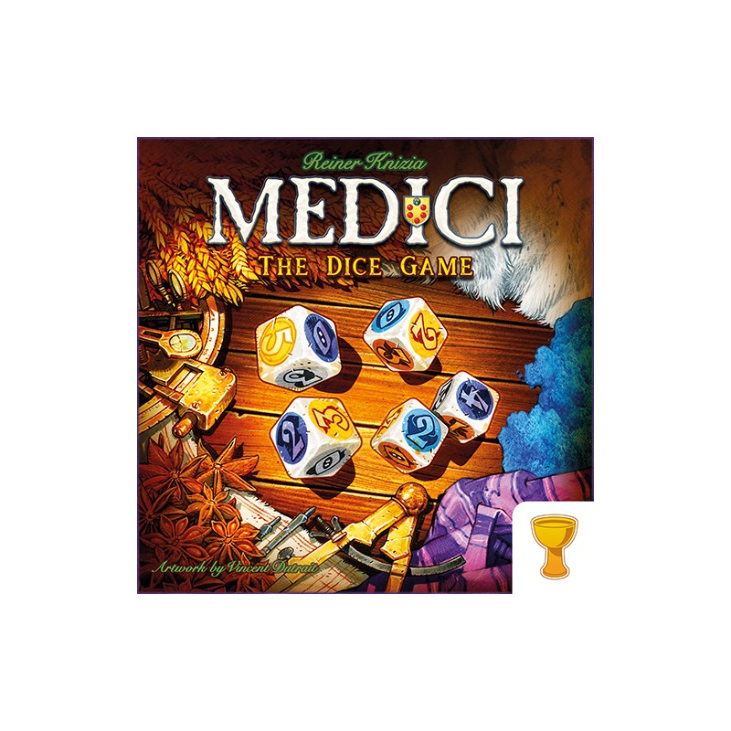 (PREORDER ESSEN) MEDICI THE DICE GAME