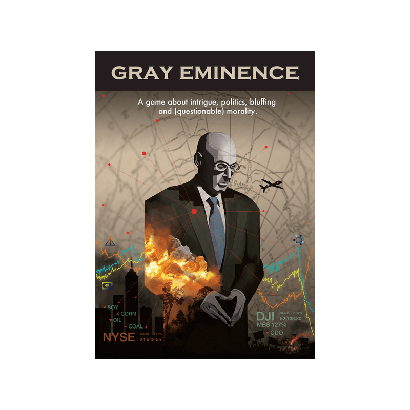 (PREORDER) GRAY EMINENCE