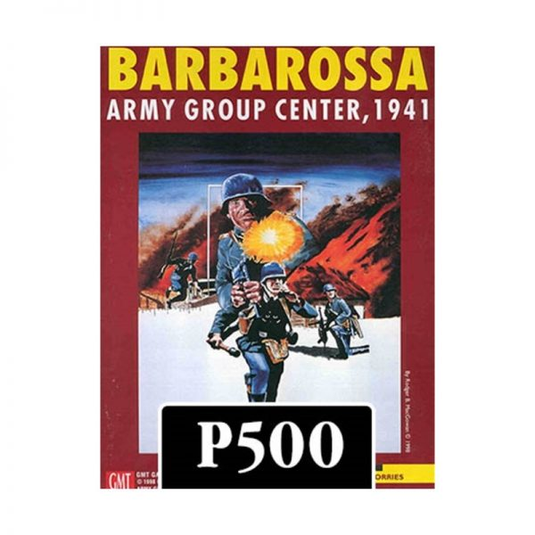(PREORDER) BARBAROSSA: ARMY GROUP CENTER 2ND EDITION
