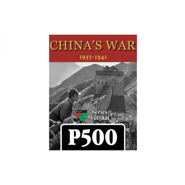 (PREORDER) CHINA'S WAR: 1937-1941