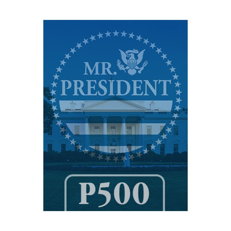 (PREORDER) MR PRESIDENT: THE AMERICAN PRESIDENCY, 2001-2020