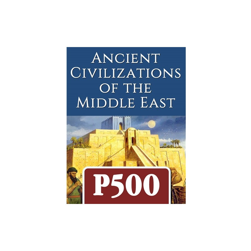 (PREORDER) ANCIENT CIVILIZATIONS OF THE MIDDLE EAST