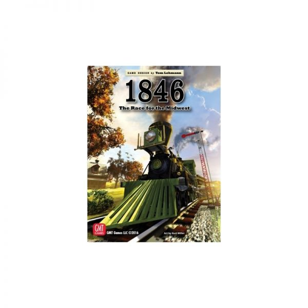 (PREORDER) 1846 THE RACE FOR THE MIDWEST REPRINT