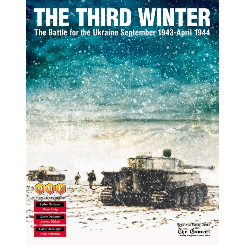 (PREORDER) THE THIRD WINTER: THE BATTLE FOR THE UKRAINE, SEPTEMBER 1943- APRIL 1944