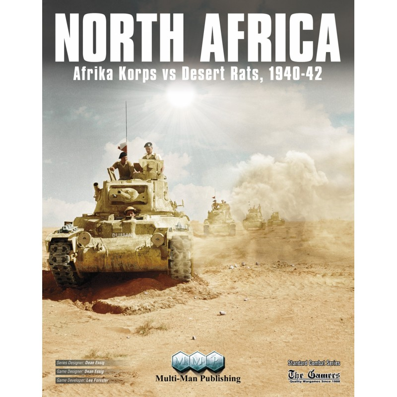 (PREORDER) NORTH AFRICA: AFRIKA CORPS VS DESERT RATS, 1940-1942